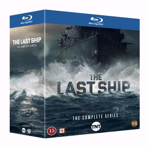 Image of The Last Ship Sæson 1-5 Blu-ray (7340112747916)