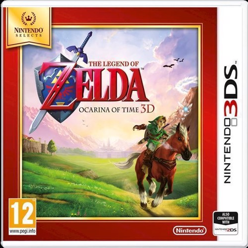 Image of The Legend Of Zelda Ocarina Of Time 3D Selects - Nintendo 3Ds (0045496472672)