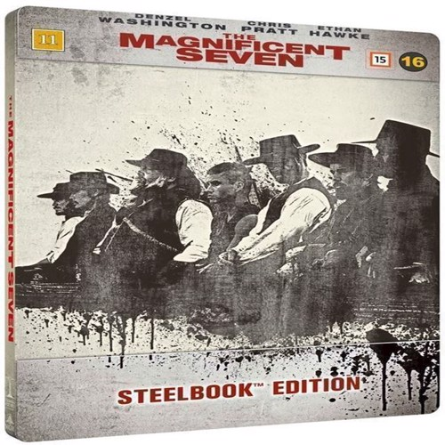 Image of The Magnificent Seven Blu-Ray Steelbook (7333018008106)