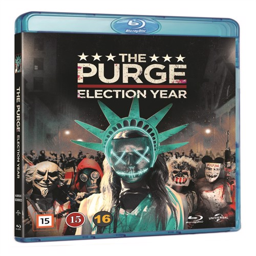 Image of The Purge 3: Election Year (Blu-Ray) (5053083089221)