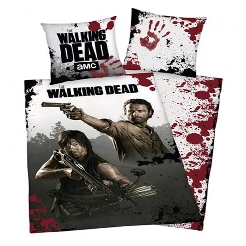 Image of The Walking Dead Sengetøj 2I1 Design 100 Procent Bomuld