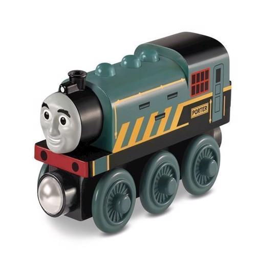 Image of   Thomas tog, Figur i træ, Porter