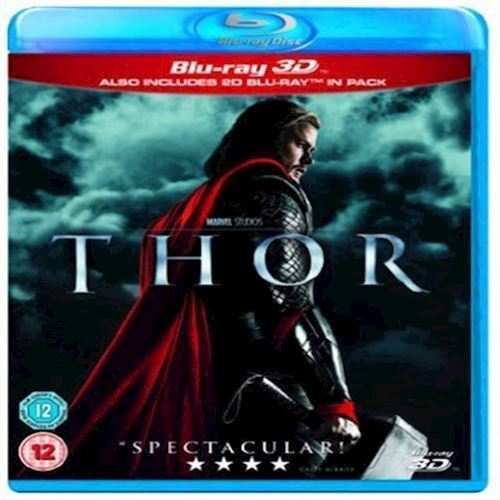 Image of Thor Chris Hemsworth 3D Blu-ray (8717418413880)
