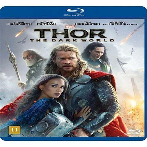 Image of Thor The Dark World Blu-ray (8717418410957)