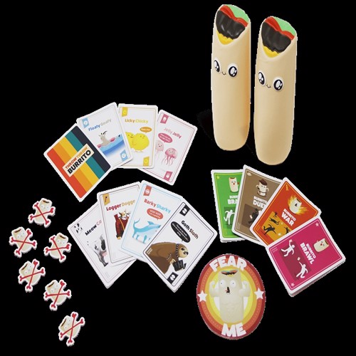 Image of   Throw Throw Burrito - A Dodgeball Card Game