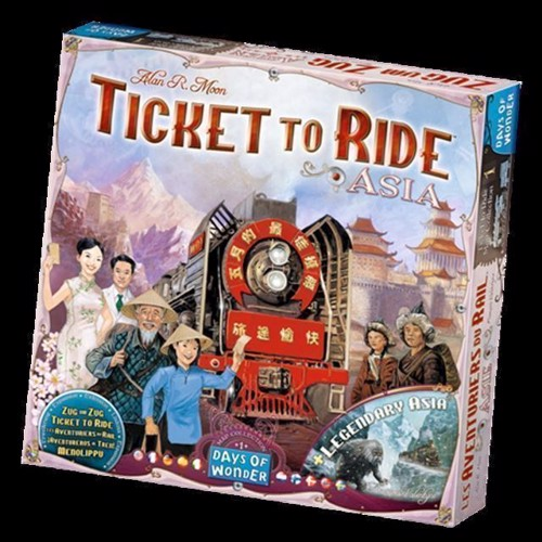 Image of Spil, Ticket to Ride - Asia (0824968117736)