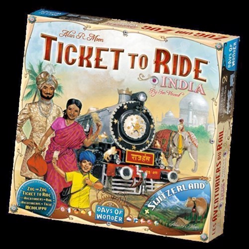 Image of Spil, Ticket to Ride - India (0824968117743)