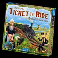 Spil, Ticket to Ride - Nederland