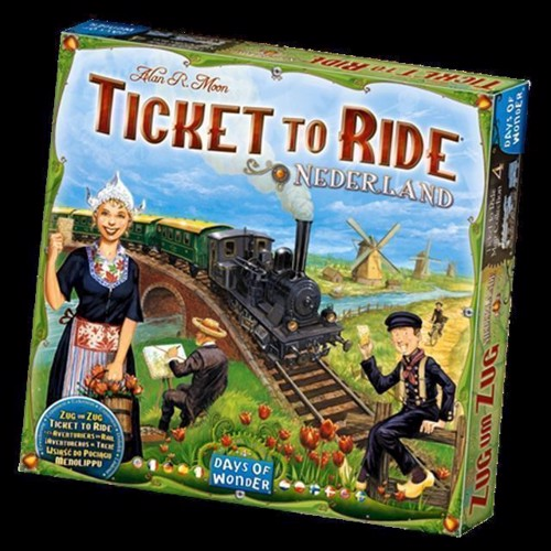 Image of Spil, Ticket to Ride - Nederland (0824968817766)