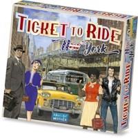 Spil, Ticket to Ride - New York