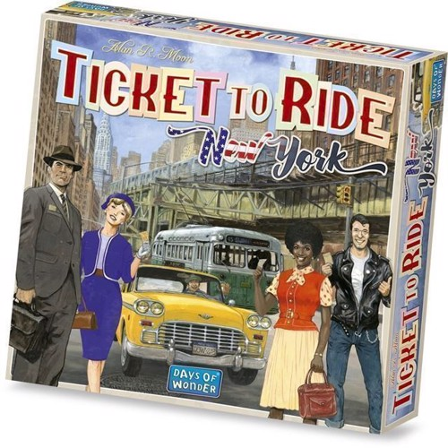 Image of Spil, Ticket to Ride - New York (0824968209608)