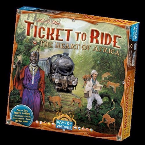 Image of Spil, Ticket to Ride - The Heart of Africa (0824968817742)