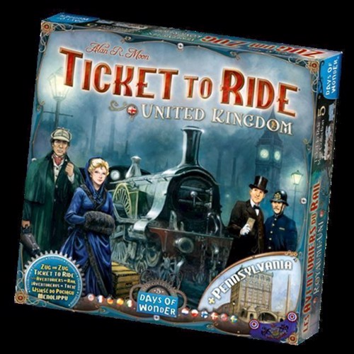 Image of Spil, Ticket To Ride - United Kingdom (0791385202362)