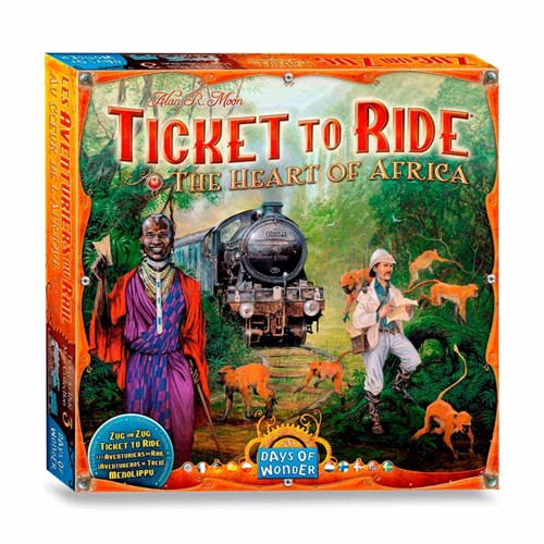 Image of Ticket to Ride Africa Board Game (824968817742)