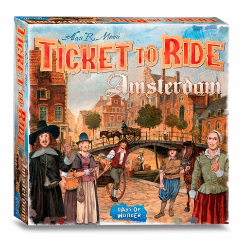 Image of Ticket to Ride Amsterdam (0824968205631)