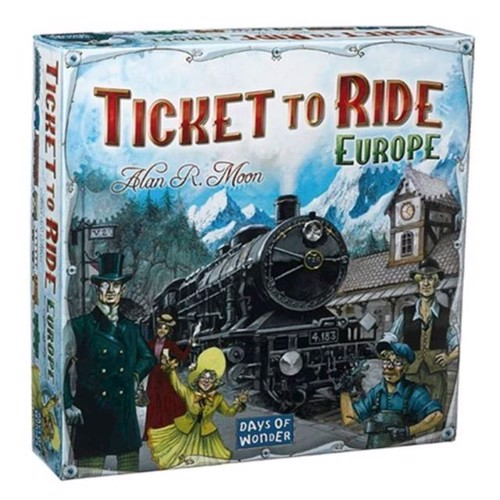 Image of Ticket to Ride Europe (0824968717028)