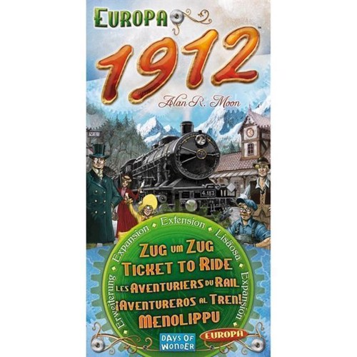 Image of Ticket To Ride Europe 1912 udviddelses pakke (0824968117712)