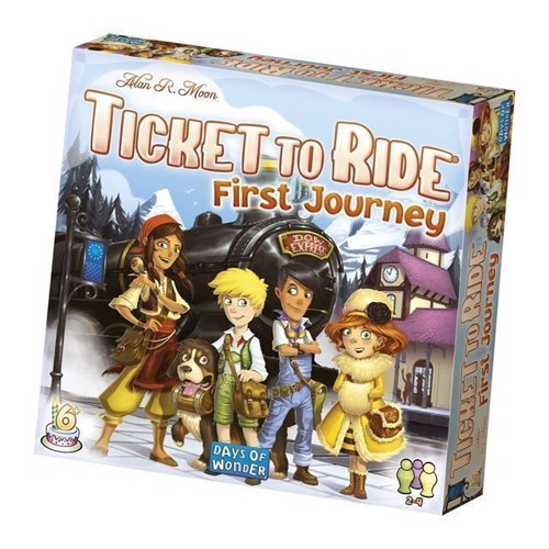 Image of Ticket to Ride First Journey Nordic (0824968209271)