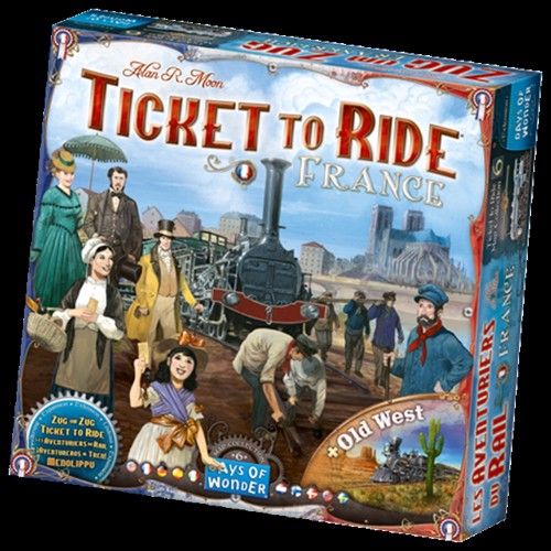 Image of Ticket to Ride - frankrig (0824968721285)