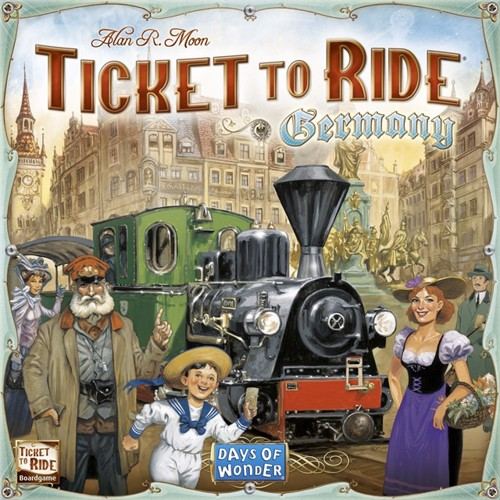 Image of Ticket to Ride - tyskland (0824968200155)