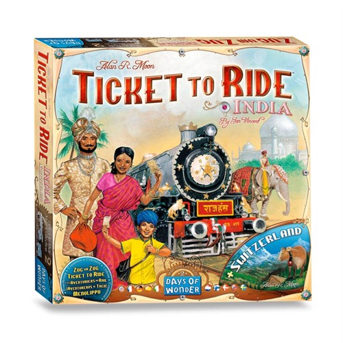 Image of Ticket to Ride India Board Game (824968117743)