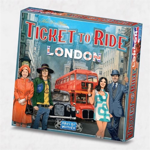 Image of Ticket To Ride - London (Nordic) (DOW720961) (0824968209615)