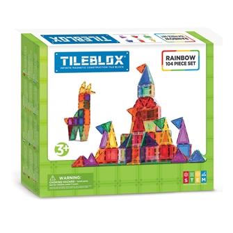 Image of Tileblox Rainbow Sæt 104 dele (8809465534035)