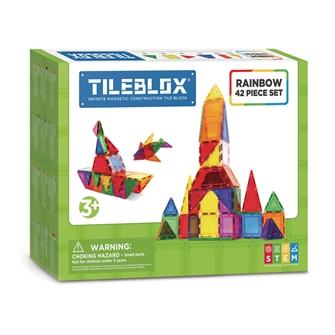 Image of Tileblox Rainbow Sæt 42 dele (8809465534011)
