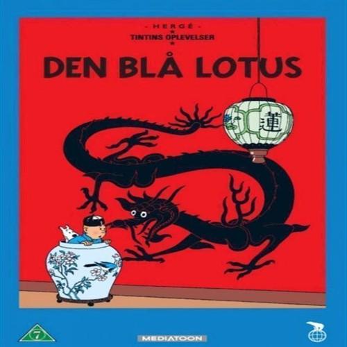 Tintin  Den Blå Lotus Dvd