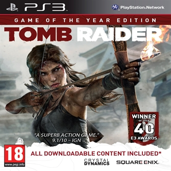 Image of Tomb Raider - Game of the Year Edition - PS3 (5021290060074)