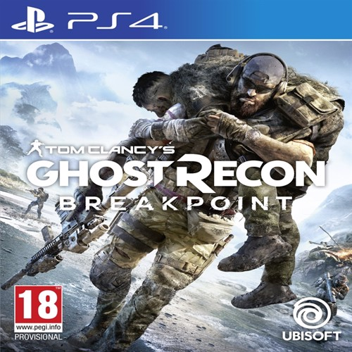Image of Tom clancys ghost recon breakpoint, PS4 (3307216136699)