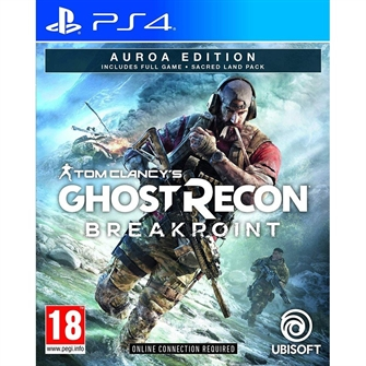Image of Tom Clancy's Ghost Recon: Breakpoint (Auroa Deluxe Edition) - PS4 (3307216138150)