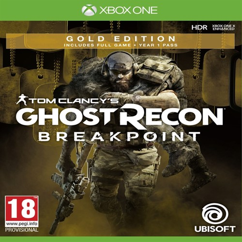 Image of Tom clancys ghost recon breakpoint gold edition, PS4 (3307216137092)