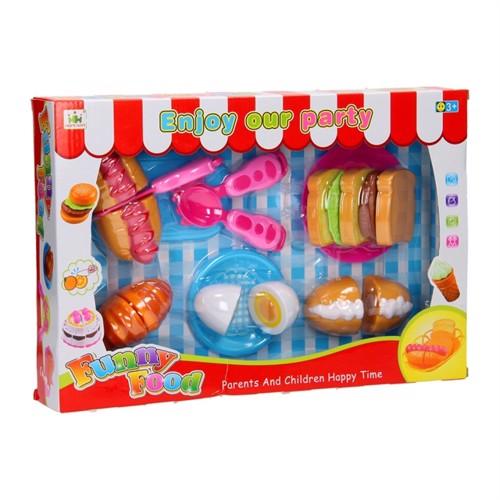 Image of Toys toddler spisetids sæt