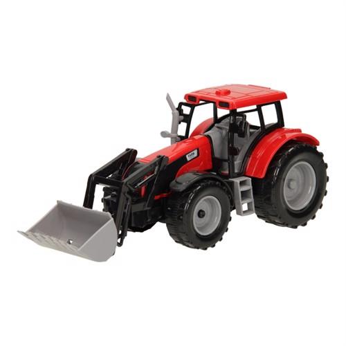 Image of Traktor med frontlæsser 1:32