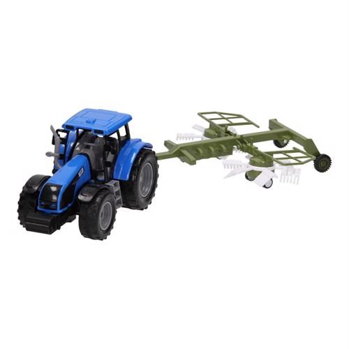 Image of Traktor med vogn 1:32
