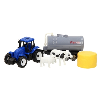 Image of Traktor Med Trailer