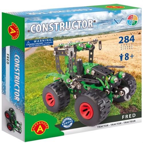 Image of Traktor Metal Konstruktionsbyggesæt - Fred (5906018021684)