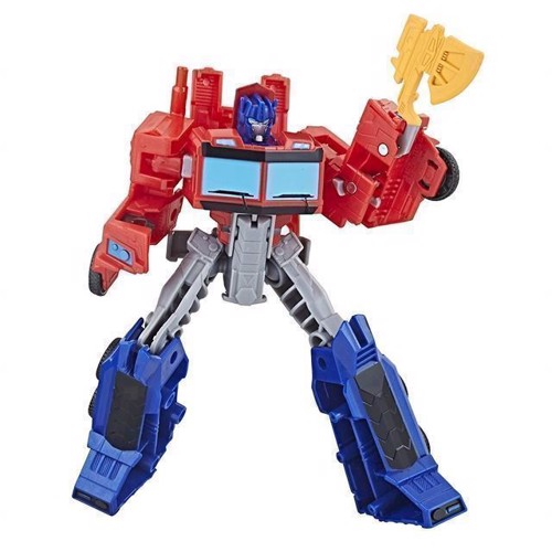 Image of Transformers - Cyberverse Warrior - Optimus Prime 16cm (5010993507238)