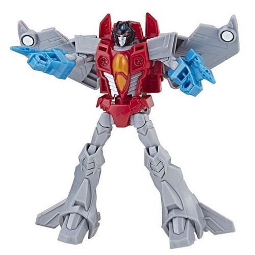Image of Transformers - Cyberverse Warrior - Starscream 16cm (5010993507191)