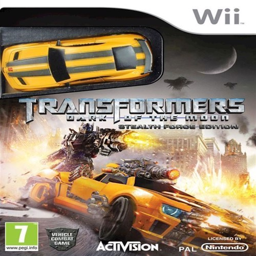 Image of Transformers Dark Of The Moon Bundle With Toy - Wii