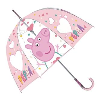 Image of Transparent Umbrella Peppa Pig (8430957132912)