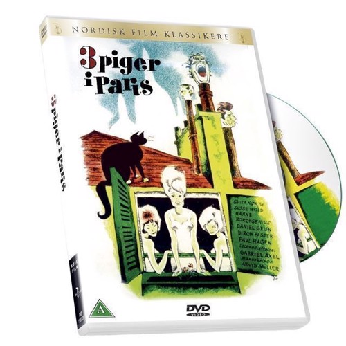 Image of Tre piger i Paris DVD (5708758666244)