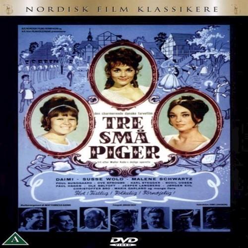 Billede af Tre så piger DVD