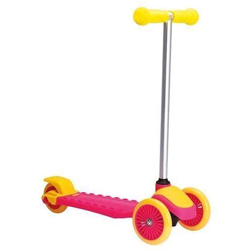 Trehjulet Cykel, Lyserød/gul