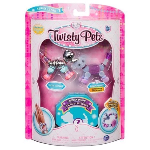 Image of   Twisty Petz, 3 Pack, elefant