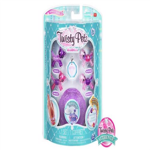 Image of Twistyspetz babies 4 pakke killing og odder (0778988565711)