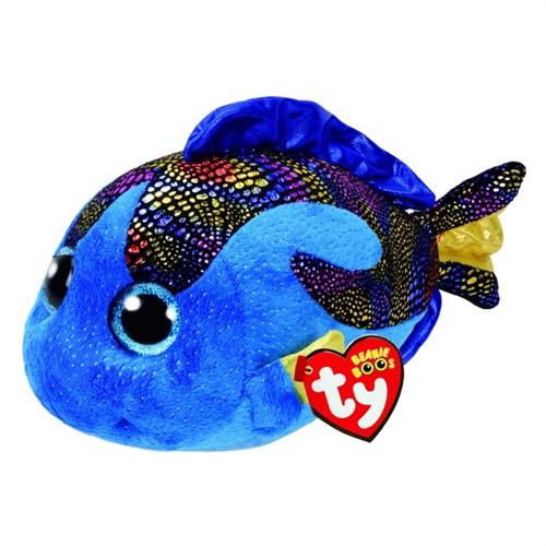Image of Ty Beanie Buddy Fisk - Aqua (008421371495)