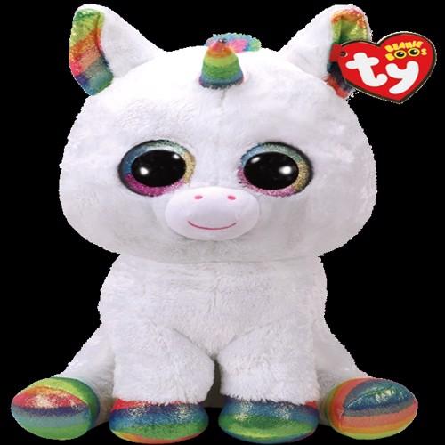 Billede af Ty Plush - Beanie Boos - Pixy the Unicorn (Large) (TY36859)