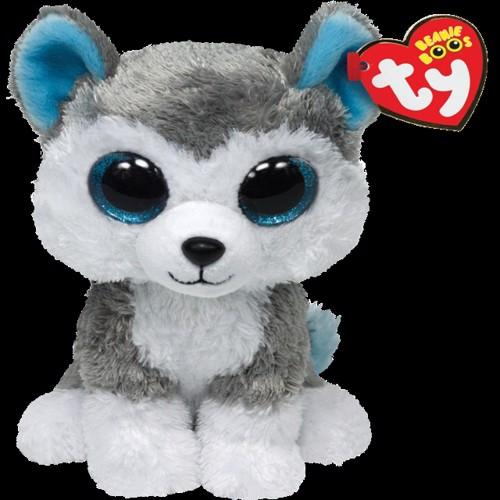 Image of Ty Plush - Beanie Boos - Slush the Husky (Medium) (TY36902) (0008421369027)